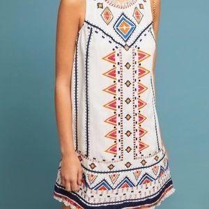 {Akemi + Kin} Anthropologie Embroidered Dress Sz4